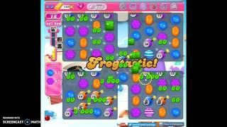 Candy Crush Level 615 help w/audio tips, hints, tricks