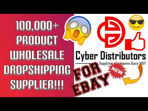 100,000+ item WHOLESALE Distributor for DROPSHIPPING on eBay! LEGALLY DROPSHIP ON EBAY!
