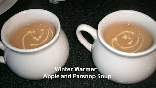 Winter Warmer - Apple And Parsnip Soup