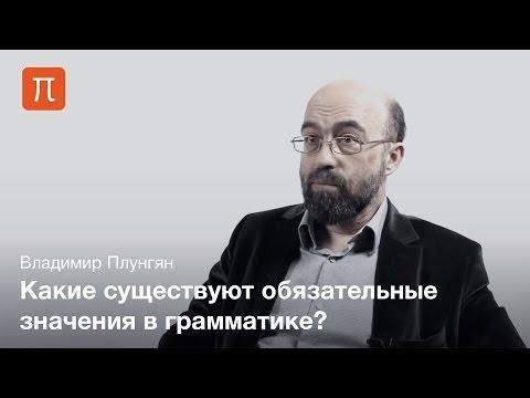 Грамматические категории - Владимир Плунгян
