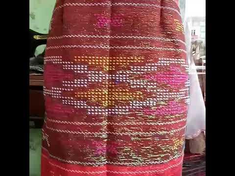 Model Dress Dari Ulos Terbaru