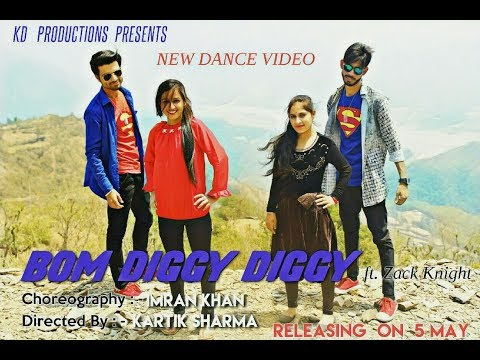 Bom Diggy Diggy New Dance Video by KD Production Team