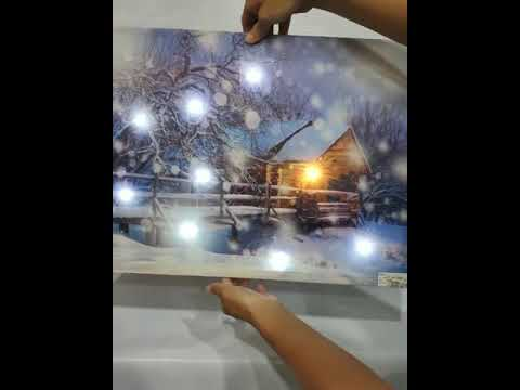 LED Canvas painting frames