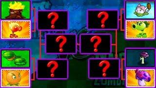 Plants Vs. Zombies Mod Tournament PvZ 1 Vs PvZ 2 Gameplay Plantas Contra Zombies 2