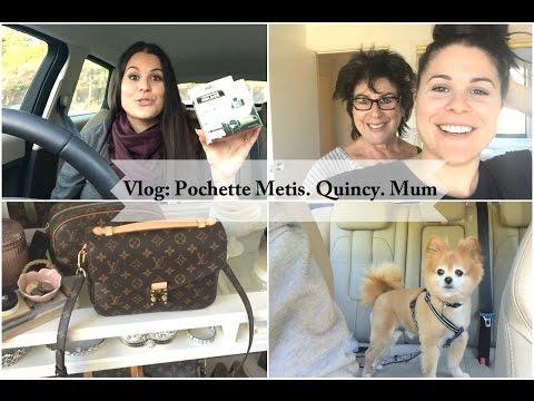 Vlog: LV Pochette Metis. Quincy. Mum!