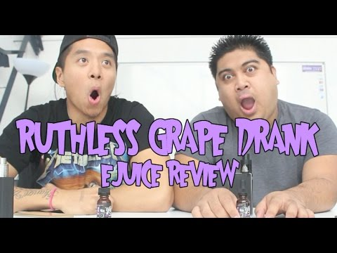 Vape providers Ruthless Grape Drank Ejuice Review