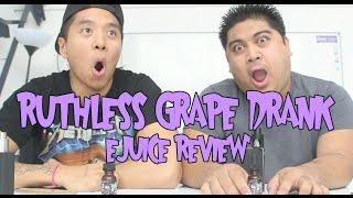 Vape providers Ruthless Grape Drank Ejuice Review