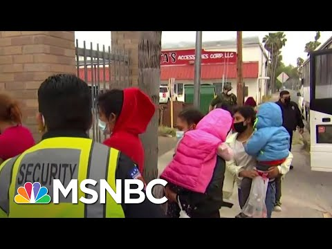 Migrants Surge At Southern Border Due To Capacity Issues in Mexico   MSNBC