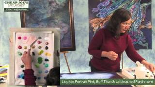 Debbie Arnold- Golden Tar Gel Medium Process (Part 1)