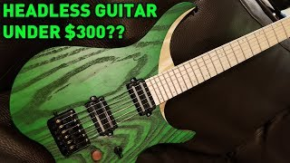 Headless Guitar For Under $300?? NK Guitar - Unboxing + Giveaway Teaser!