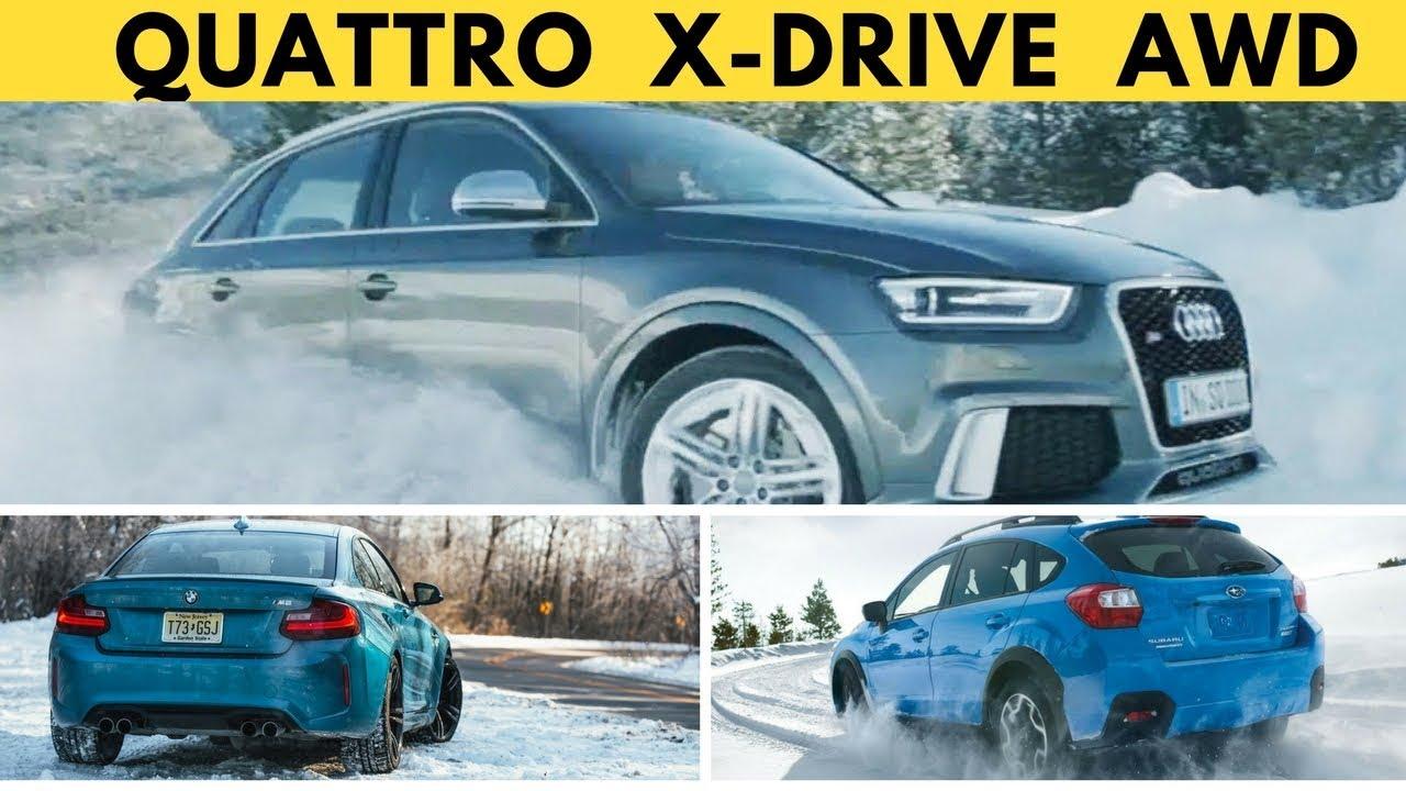 Quattro Vs Xdrive Subaru Awd Who S Going To Win