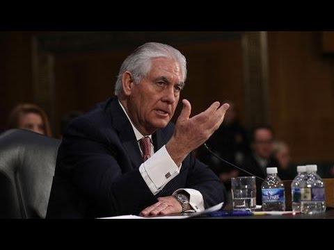 Rex Tillerson Takes Questions About Russian Sanctions
