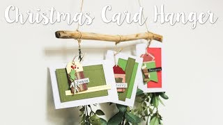 How to make a Christmas Card Holder with Yasmin Rowlands - Sizzix Lifestyle
