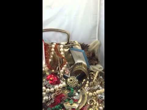 Huge vintage jewelry lot