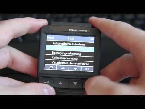 Die Konfiguration der Rollei DVR-110 Dashcam/Autokamera