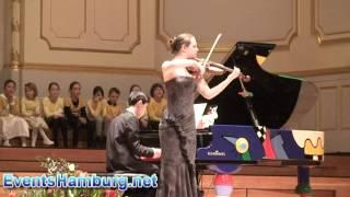 Laura Koroliuk, Violine -- Junis Edris, Klavier. P. Tschaikovsky:  Russischer Tanz