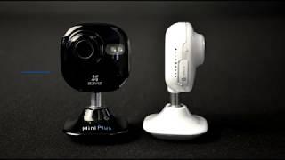 Обзор беспроводной WiFi камеры Ezviz Mini Plus