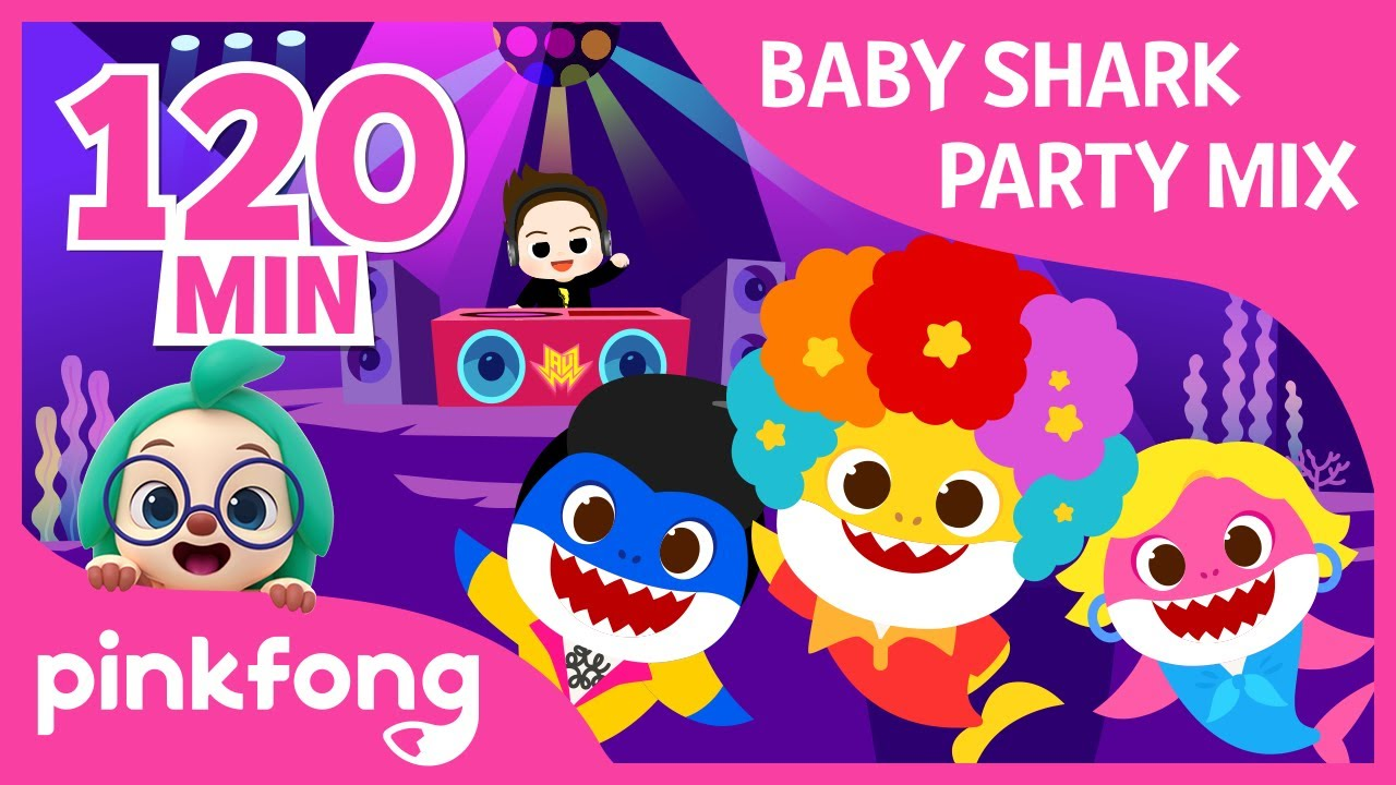 Baby Shark Party Remix | +Compilation | Halloween Party | Party Mix | Pinkfong Songs for Children