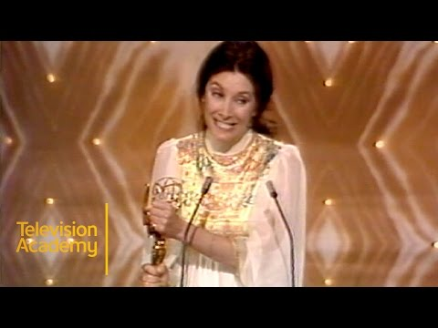 Jean Marsh Wins Emmy for UPSTAIRS DOWNSTAIRS  Emmys Archive 1975