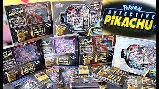 EVERY Detective Pikachu Pokemon Card Box