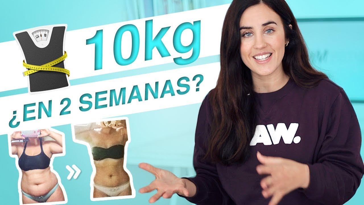 Como bajar de peso en 2 semanas rapidamente translation