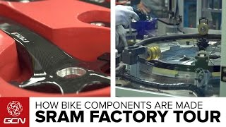 Where Bike Components Are Made –Inside SRAM's Taiwan Factory