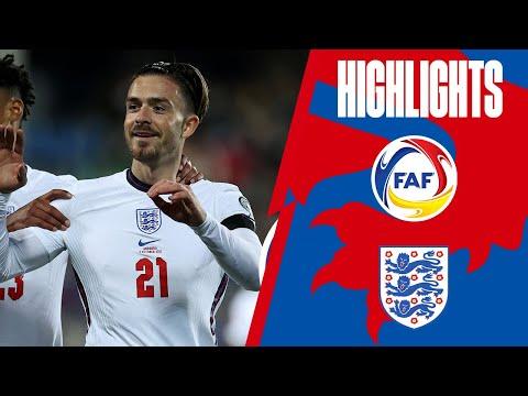 Andorra England Goals And Highlights