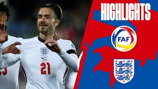 Andorra 0 5 England Clinical Three Lions Score Five World Cup 2022 Qualifiers Highlights