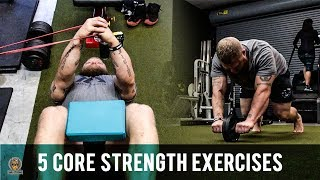 Core Exercises For MMA Performance