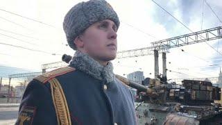 Los despojos de la Guerra de Siria se exhiben en Rusia
