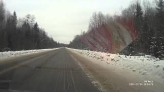 Трасса М9 - Убитый участок дороги (15-17-45 - 15-54-52)