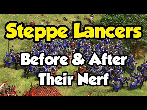Comparing Steppe Lancers Before And After Their Nerf