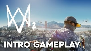 Watch Dogs 2: The First Mission - No Commentary Gameplay 1080p Xbox One