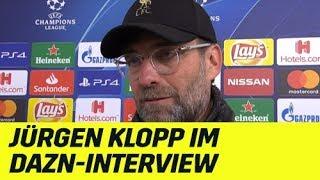 Jürgen Klopp zum 1:0 von Sadio Mane: