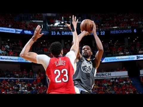 Durant 38 Pts Game 4! Pelicans Fans Sleeping! 2018 NBA Playoffs