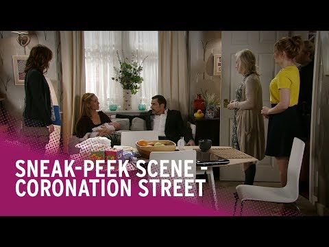 Coronation Street spoilers: Eva's baby to be taken by social services? Watch the scene