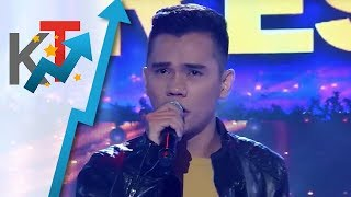 TNT All Star Grand Resbak Round 1 Jovanni Satera sings 'It's Now Or Never'