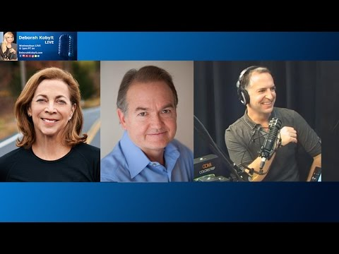 Deborah Kobylt Live: John Gray, Kathrine Switzer, and Colin
