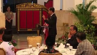 Begini Tingkah Joni di Depan Jokowi
