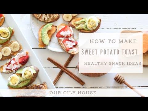 How to Make Sweet Potato Toast | 12 Delicious Topping Ideas for Sweet Potato Toast