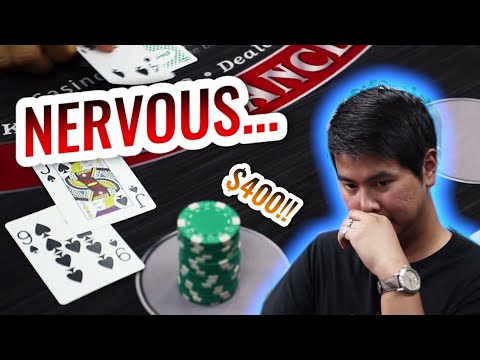 🔥 NERVOUS 🔥 10 Minute Blackjack Challenge - WIN BIG Or BUST #2