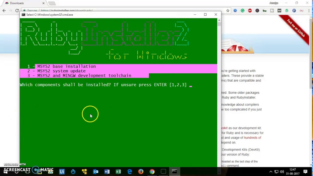 How to Install Ruby on Windows 10