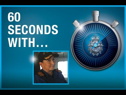 60 Seconds with LCdr Emily Lambert, Commanding Officer, HMCS Summerside