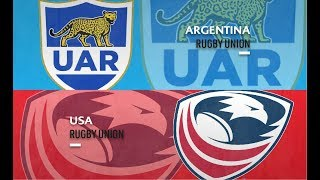 Argentina v USA - Americas Rugby Championship 2019 Round Two - Full Match