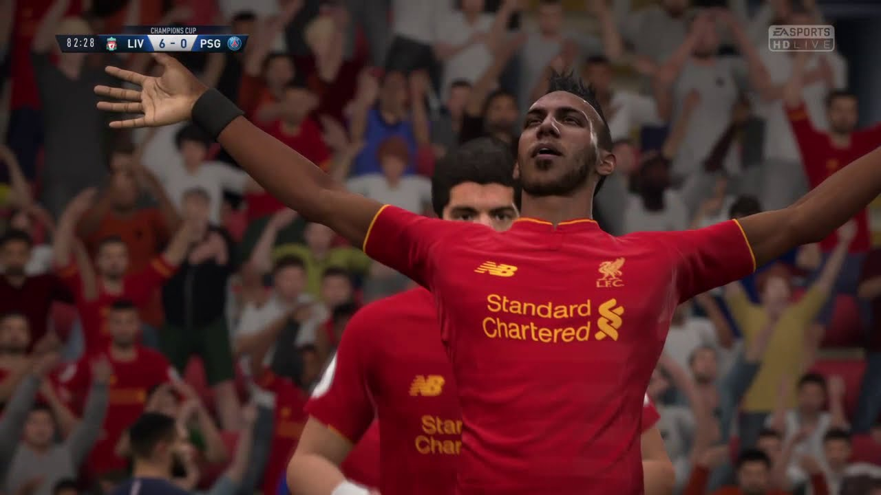 Liverpool vs PSG - YouTube