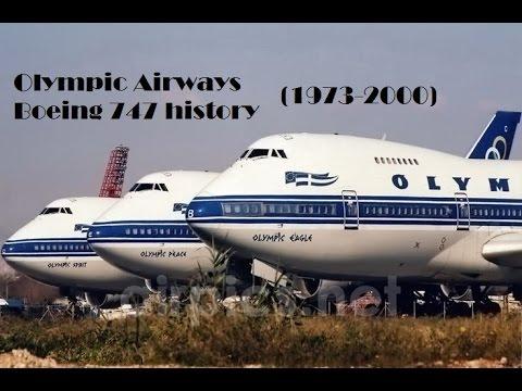Fleet History - Olympic Airways Boeing 747 (1973-2000)
