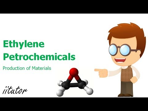 √  Ethylene and Petrochemicals in Production of Materials | iitutor