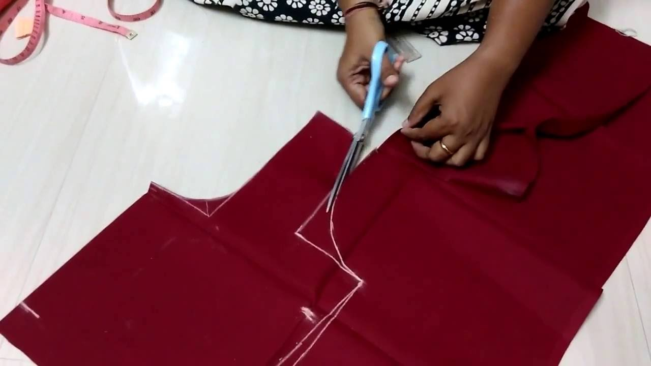 Youtube.Com Blouse Cutting 38