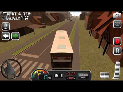 Bus Simulator Game 2015 - Android / iOS GamePlay Trailer
