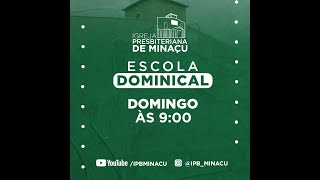 Escola Dominical 10.10.2021 Estudo 34 do juízo final 1ª Parte Rev Geter
